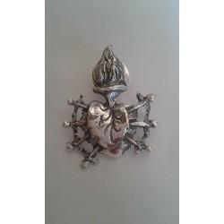 Pin Corazon de Plata Ref: 1023