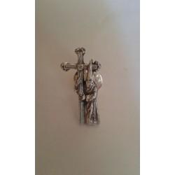 Pin Nazareno de Plata Ref:...