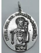 Medalla Nuestra Señora del Rosario de A Coruña