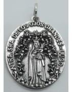 Medalla Virgen de los Ojos Grandes Lugo