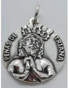 Medalla Cristo de las Penas de Triana de Sevilla
