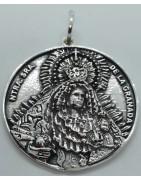 Medalla Virgen de la Granada de Plata de Ley