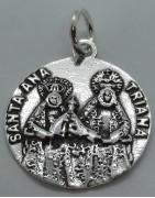 Medalla Santa Ana de Triana de Sevilla de Plata de Ley